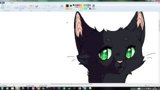 SPEEDPAINT [Warrior Cats] ~Hollyleaf ~ [MS Paint] [HD]
