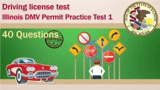 Driving license test: Illinois DMV Permit Practice Test 1 (Easy)