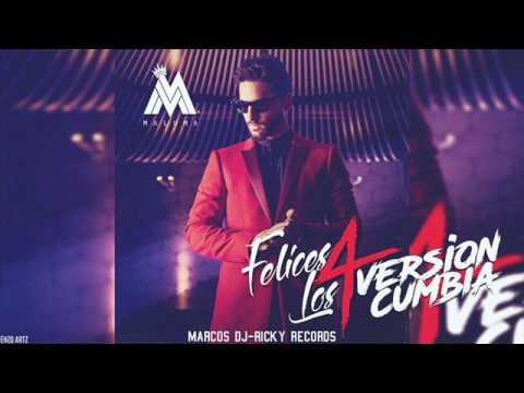 Maluma - Felices los 4 (versión cumbia)(Marcos dj)