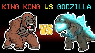 among us new King Kong vs Godzilla (mods)