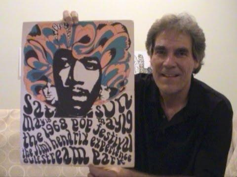 Miami Pop Festival Concert Posters 1968 Hendrix, Grateful Dead
