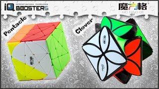 QiYi Pentacle Cube & QiYi Clover Cube обзор головоломок | review