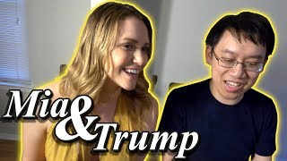 ♬♬ Mia Malkova & Trump Sing: A Whole New World ♬♬
