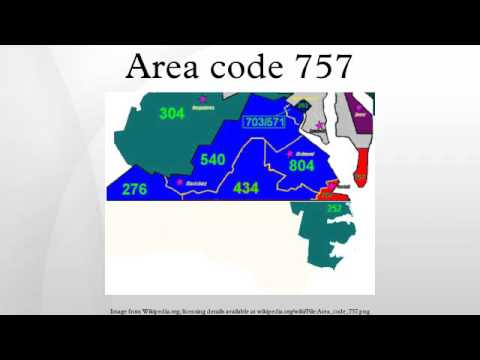 Area code 757