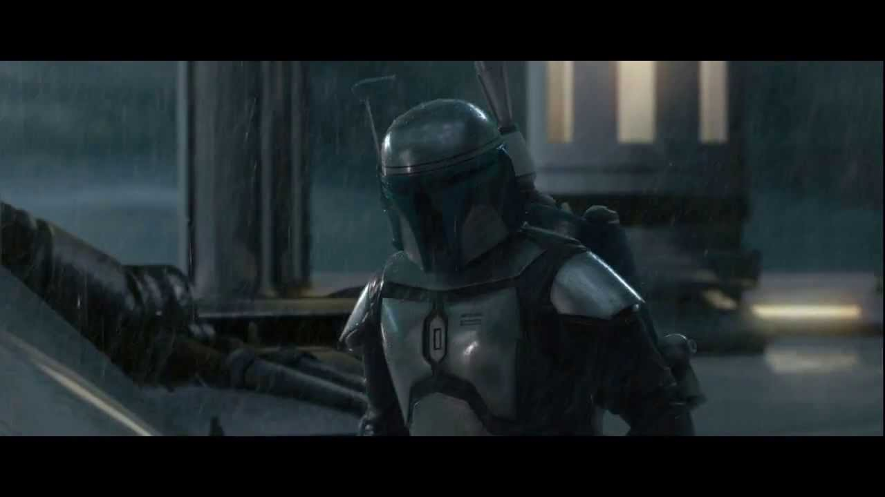 Star Wars Obi Wan Vs Jango Fett Hd Youtube