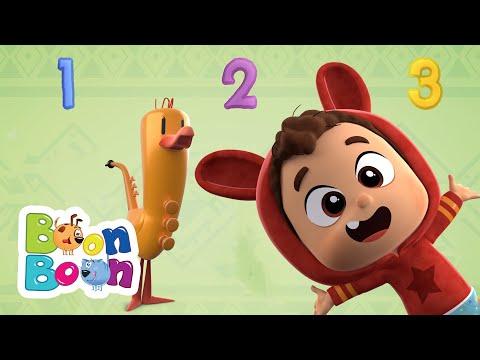 Zece prieteni – Lea si Pop invata cifrele de la 1 la 10 | Cantece pentru copii BoonBoon – Cantece pentru copii in limba romana