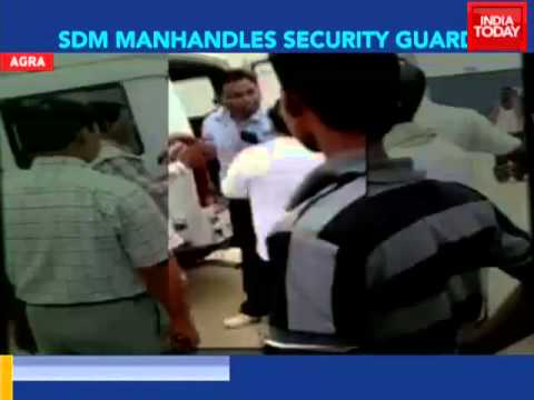 On camera: Agra SDM slaps guard for doing his duty