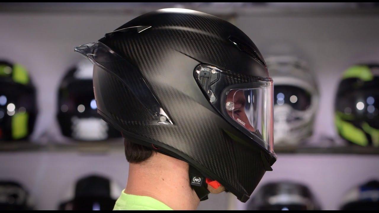 Carbon Fiber Motorcycle Helmets >> AGV Pista GP R Helmet Review at RevZilla.com - YouTube