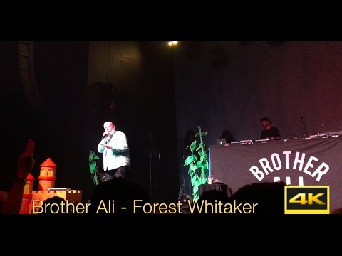 Brother Ali - Forest Whitaker - Emo's Austin TX | LIVE in 4K