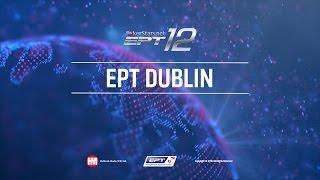 EPT Dublin 2016 25k EUR High Roller Live Poker Final Table cards up