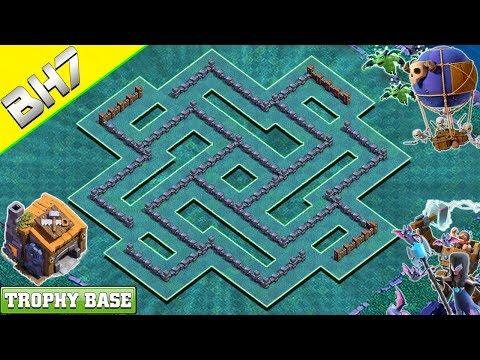 NEW Best! Builder Hall 7 (BH 7) Base 2019 Design | Clash Of Clans