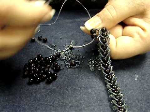 Flat Spiral Stitch Video, 2nd Row
