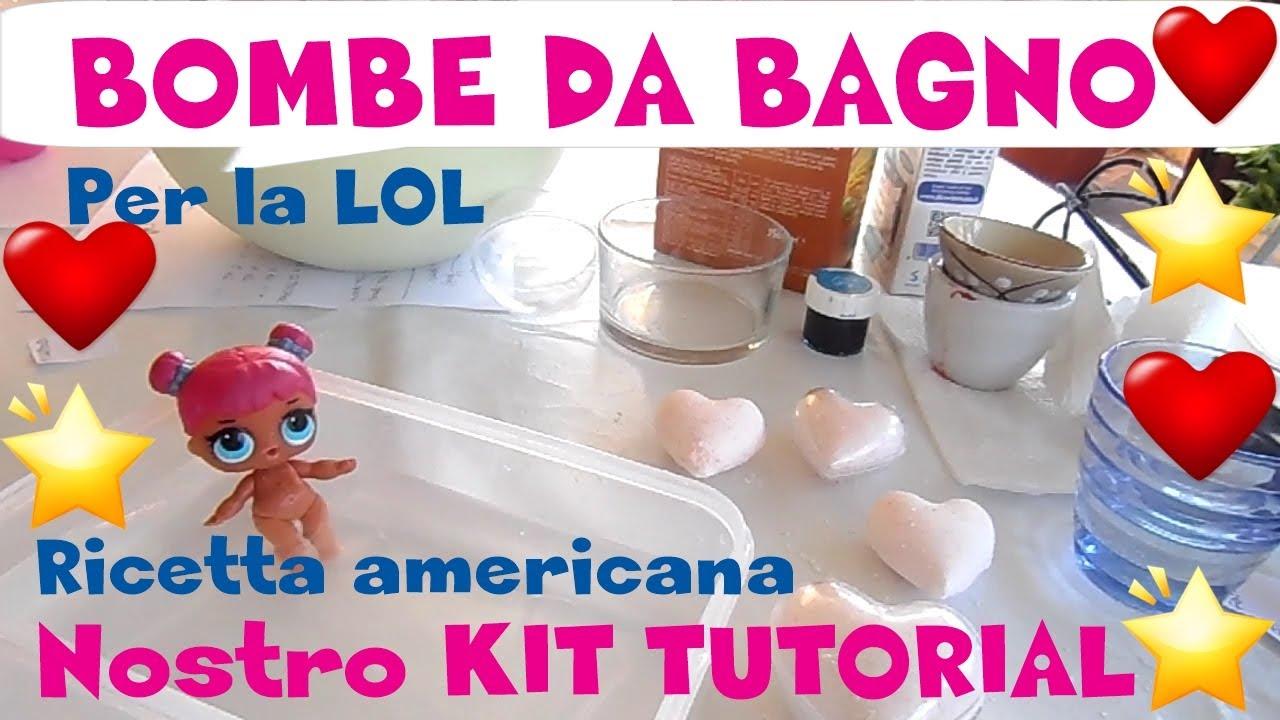 Bombe da bagno per la lol surprise con il nostro kit by lara e babou youtube - Bombe da bagno dove comprarle ...