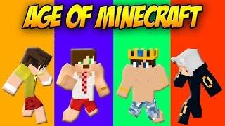 Age of Minecraft #1: YENİ KADRO !! (Batuu05-BugraaK-OzanBerkill-wolvoroth)
