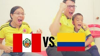 Reacción Colombia vs Peru 10/10/17 (1-1) Eliminatorias Mundial De Rusia 2018