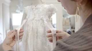 The Penelope Christening Gown by Baby Beau & Belle