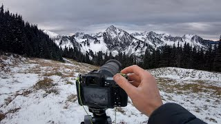Mountain Photography & Sฑow Camping