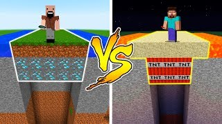 MINECRAFT - NOTCH vs HEROBRINE: HIDDEN TRAP in Minecraft