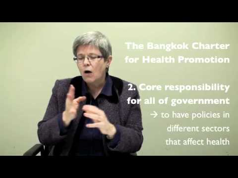 Suzanne Jackson on Understanding Health Promotion