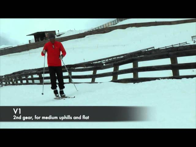 Cross Country Skiing - Skate Skiing Technique