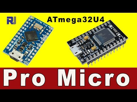 Pro Micro ATMEGA32U4  Arduino Pins And 5V, 3.3V Explained
