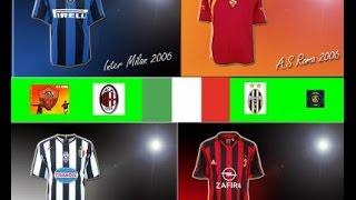 PES 5: A.C. Milan, A.S. Roma, Inter and Juventus