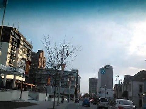 Driving Around Downtown Oshawa