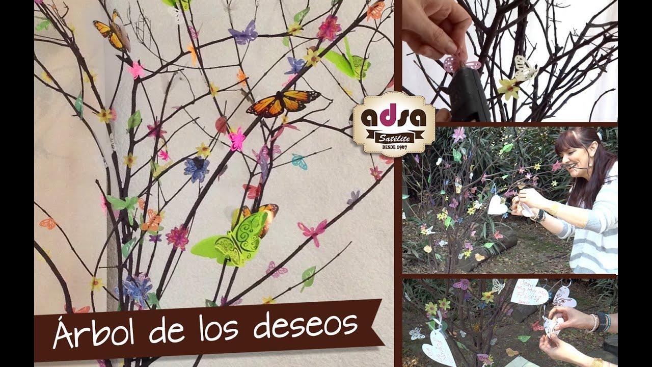 Chuladas creativas rbol de los deseos decoraci n y - Arboles de decoracion ...