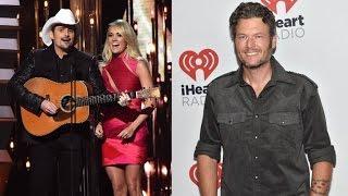Carrie Underwood and Brad Paisley Tease Blake Shelton About Miranda Lambert Divorce