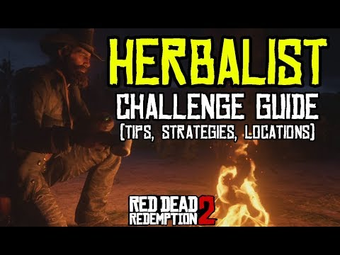 🌿🌾Red Dead Redemption 2 - All 10 Herbalist Challenges | Tips, Strategies & Locations 🌾🌿