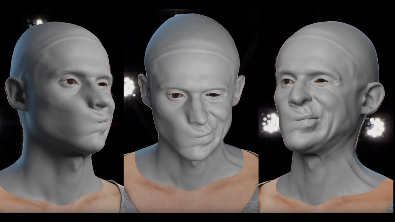 Download R3DS Wrap4D   Best 4D Scan Processor! Photo Realistic Avatar & Facial Animation for All VFX Studios