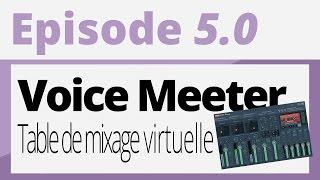 Créer sa radio - 5.0 - Voice Meeter : Une table de mixage virtuelle