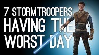 Star Wars Jedi Fallen Order: 7 Stormtroopers Having the Worst Day