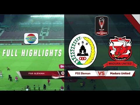 PSS Sleman (0) vs (2) Madura United - Full Hightlights | Piala Presiden 2019