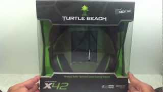 turtle beach earforce x42 unboxing