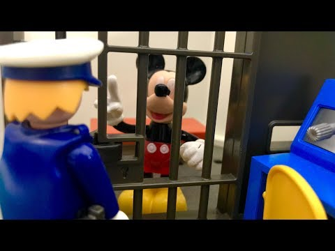 Myszka Miki w więzieniu ☺ Bajka po Polsku dla dzieci ☺ Mickey Mouse