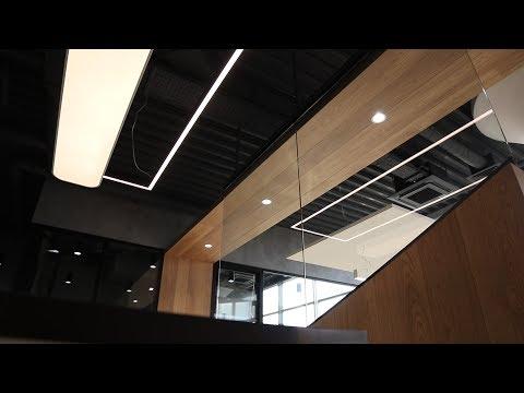 Отделка офиса  205  М² очень интересный проект
