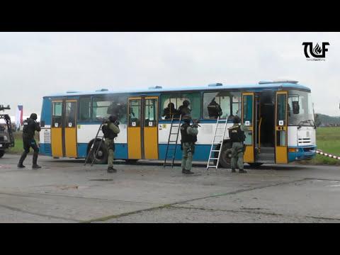 Dny NATO 2017 - ukázka policejních zásahových jednotek