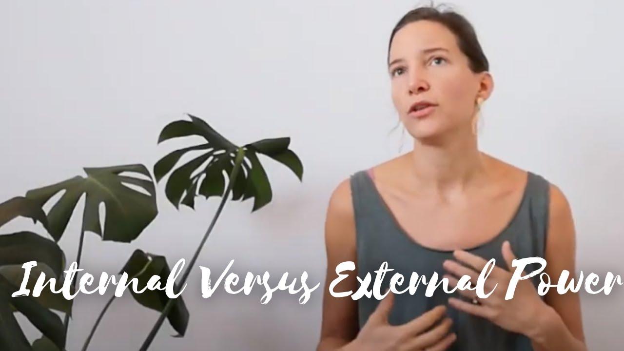 Internal Versus External Power
