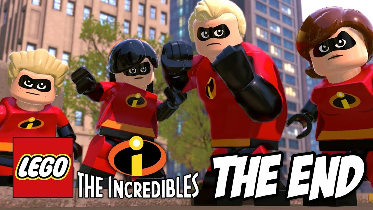 Lego Incredibles Gameplay Walkthrough The End The Final Showdown Ps4 Youtube