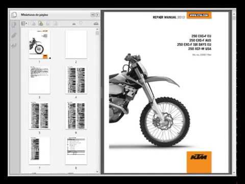 ktm 250 exc f xcf w 2012 service manual wiring. Black Bedroom Furniture Sets. Home Design Ideas