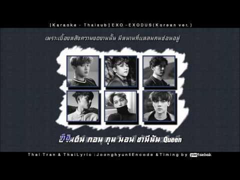 [Karaoke - Thaisub] EXO - EXODUS (Korean ver.)