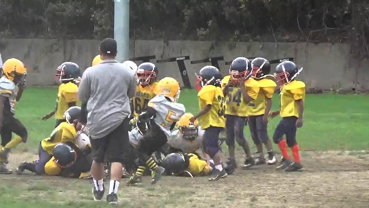 cd136428 Northside Steelers vs Southside Bears 0-0 Game #2 2015