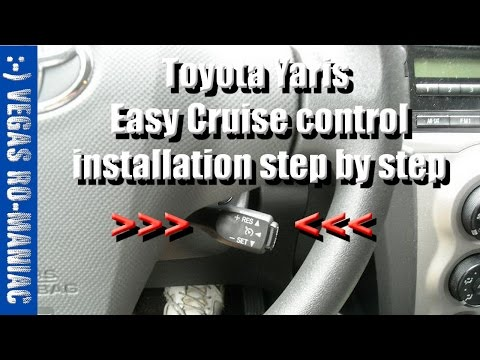 How to install Cruise Control – Toyota Yaris – Instructions STEP by STEP