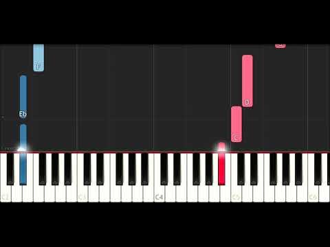 XxxTentacion - Everybody Dies In Their Nightmares (SLOW EASY PIANO TUTORIAL)