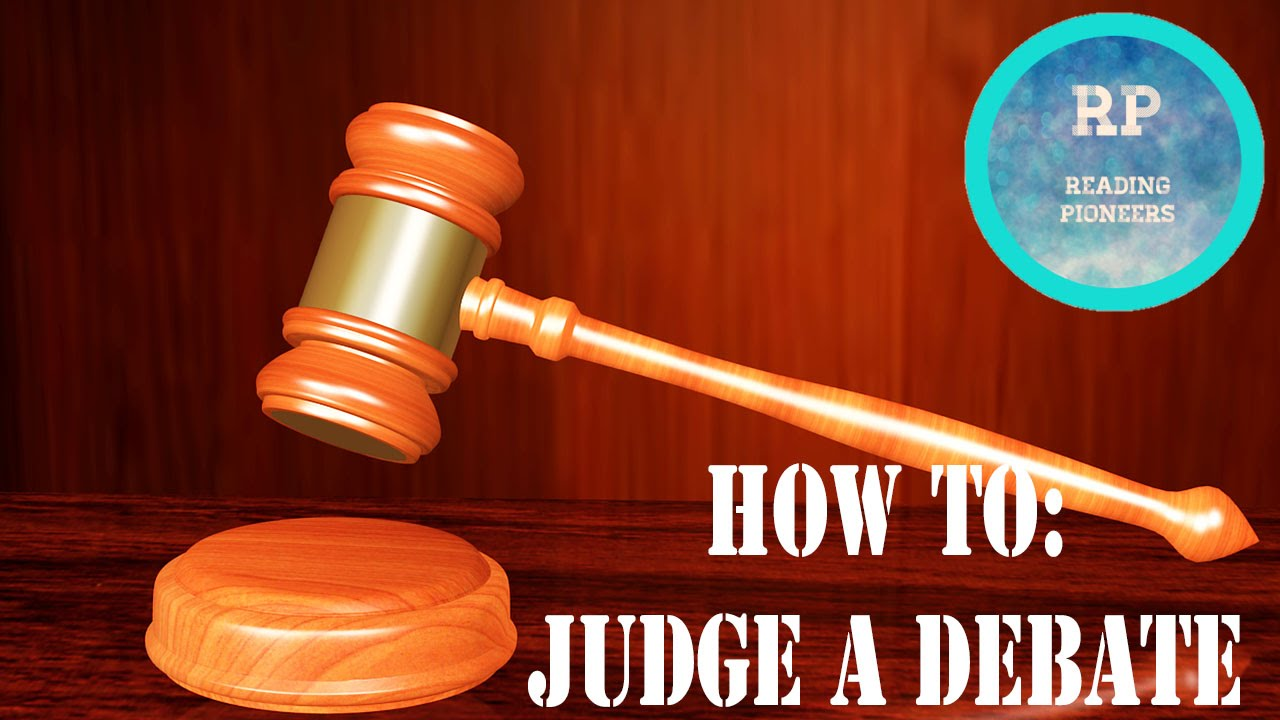 How to Judge a Debate