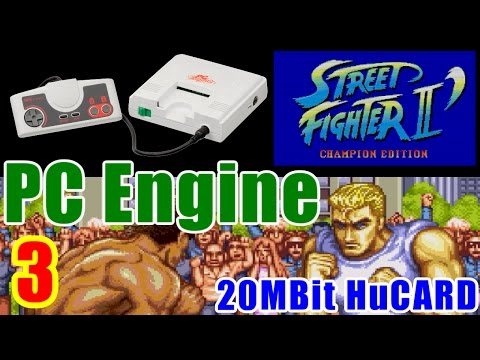 [3/3] STREET FIGHTER II DASH(PC-Engine)
