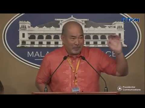 Press Briefing by Philippine Charity Sweepstakes Office (PCSO) January 24, 2017