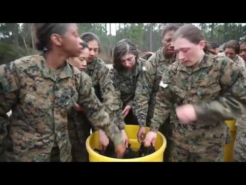 MARINE CORPS FEMALE RECRUIT BOOT CAMP | HOW FEMALE UNITED STATES MARINES ARE MADE | 2017. ®