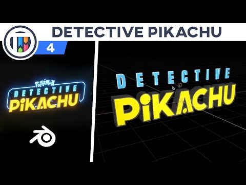 how-to-re-create-the-detective-pikachu-logo---blender-2.8-eevee-tutorial-[4-of-11]---color